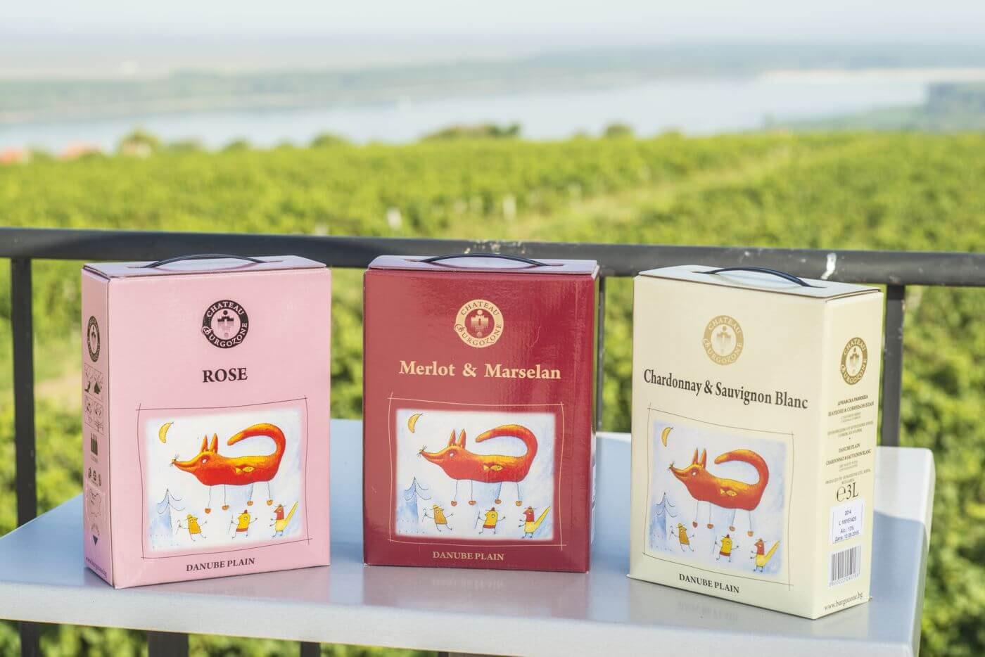Новата търговска опаковка BIB Superior вино на Шато Бургозоне – свежа новост на пазара
