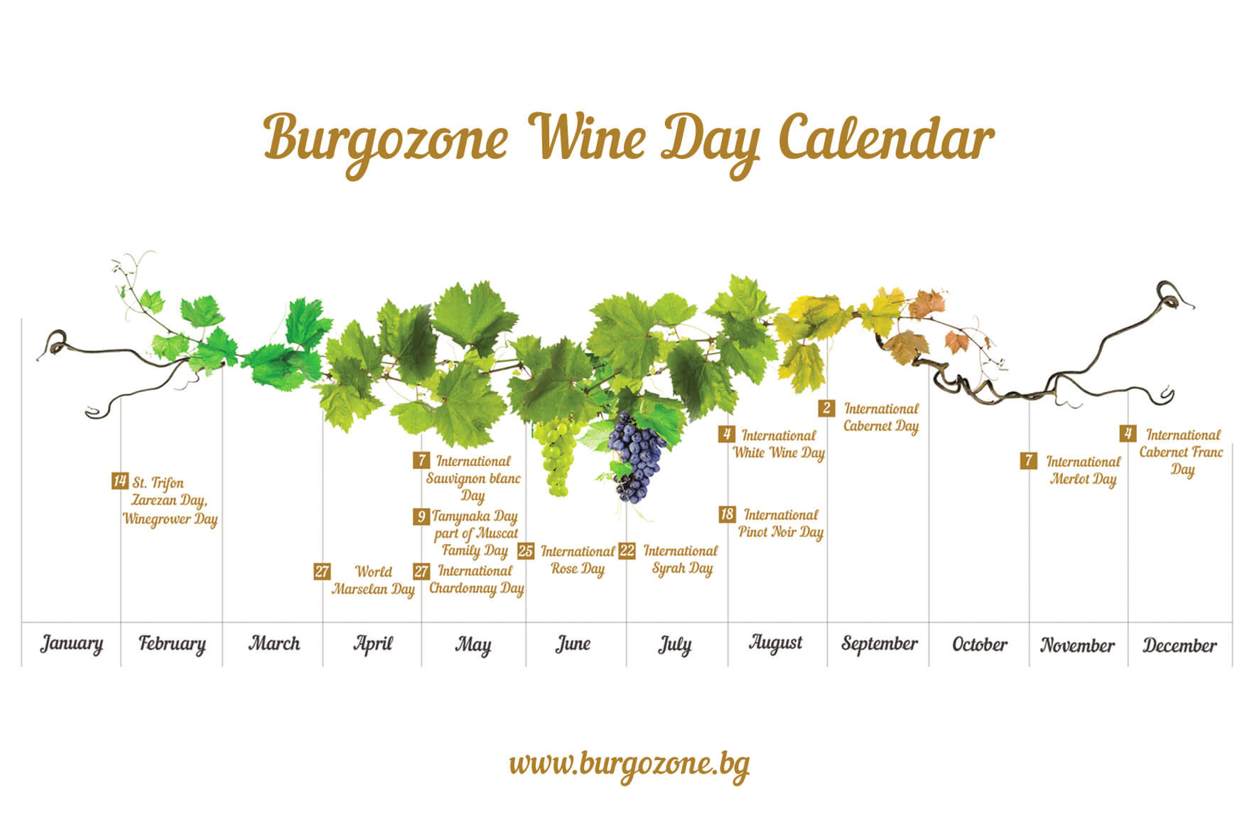 Wine days calendar